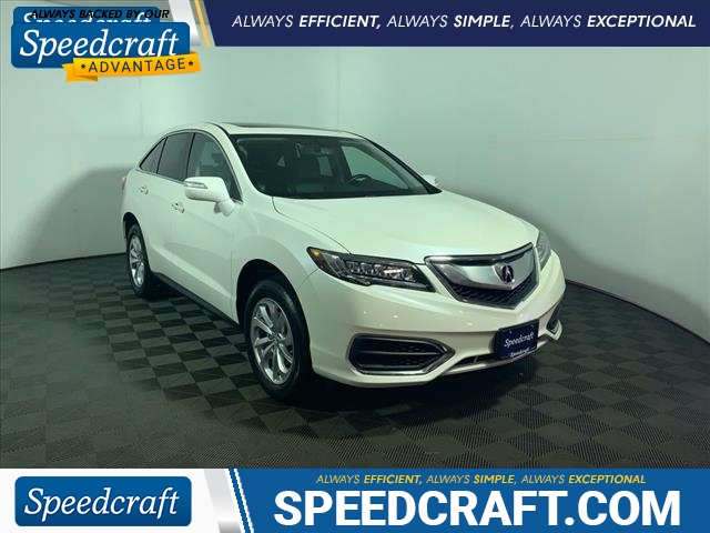 Acura Certified Pre-Owned >> Certified Pre Owned 2017 Acura Rdx Base Sh Awd Awd 4dr Suv In West