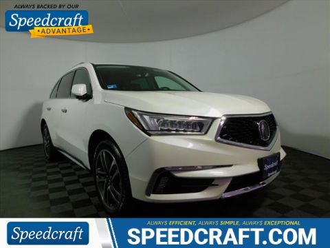 Certified Pre-Owned 2017 Acura MDX SH-AWD w/Advance